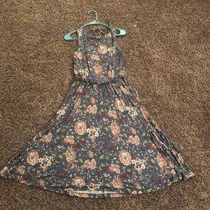 Floral LOFT Midi Dress